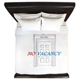 No Vacancy King Duvet
