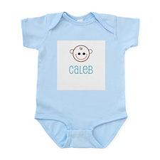 Caleb - Baby Name Infant Creeper