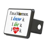 I'm a Mormon Rectangular Hitch Cover