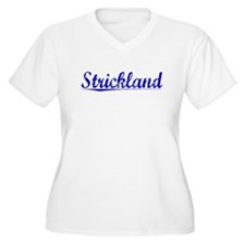Strickland, Blue, Aged T-Shirt