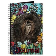 Shih Tzu Fine Art Hershey Bear Journal