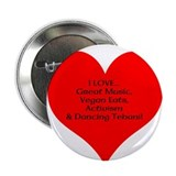 I HEART Dancing Tehani 2.25&amp;quot; Button