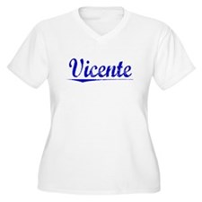 Vicente, Blue, Aged T-Shirt