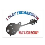 BLUEGRASS MANDOLIN Postcards (Package of 8)