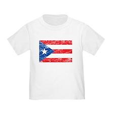 Vintage Puerto Rico Flag T