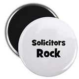 "SOLICITORS Rock 2.25"" Magnet (10 pack)"