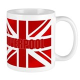 Liverpool Scouser Flag Coffee Mug