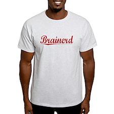 Brainerd, Vintage Red T-Shirt