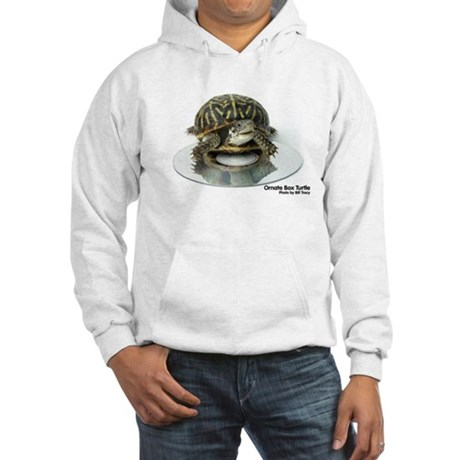 Ornate Box Turtle Hooded Sweatshirt