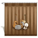 Jugband Music Shower Curtain