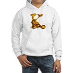 Blown Gold K Hooded Sweatshirt