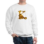 Blown Gold K Sweatshirt