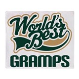 Gramps Gift (Worlds Best) Throw Blanket