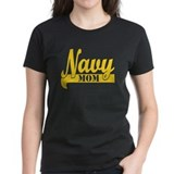 Collegiate Navy Mom 2 T-Shirt