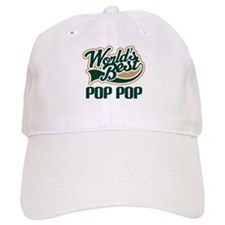 Pop Pop (Worlds Best) Baseball Cap