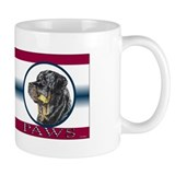 Rottie United Paws Small Mug