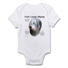 Polish Lowland Sheepdog Infant Bodysuit