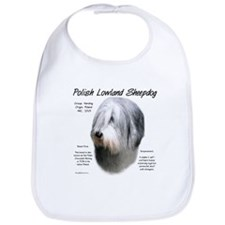 Polish Lowland Sheepdog Bib