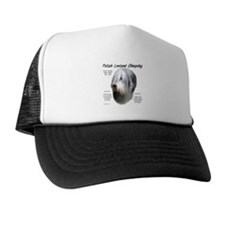Polish Lowland Sheepdog Trucker Hat