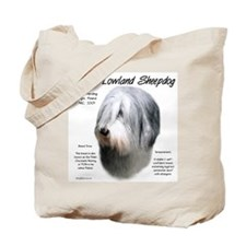 Polish Lowland Sheepdog Tote Bag
