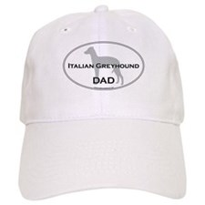 Italian Greyhound DAD Baseball Cap