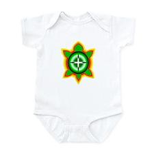 SOUTHEASTERN TRIBAL TURTLE Infant Bodysuit