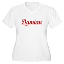 Damian, Vintage Red T-Shirt