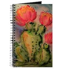 Cactus! Bright southwest art! Journal