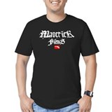 """Maverick Films"" Black T-Shirt T-Shirt"