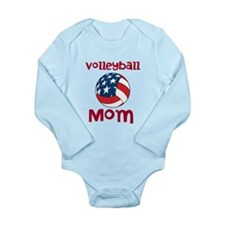 Volleyball Mom Long Sleeve Infant Bodysuit