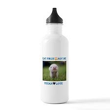 Vegan Love Water Bottle