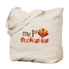 My 1st Thanksgiving Tote Bag