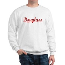 Douglass, Vintage Red Sweatshirt