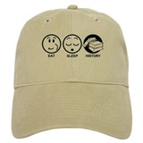 Eat Sleep History Baseball Cap