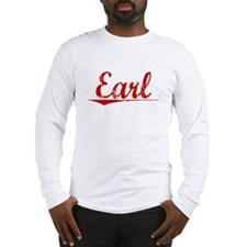 Earl, Vintage Red Long Sleeve T-Shirt
