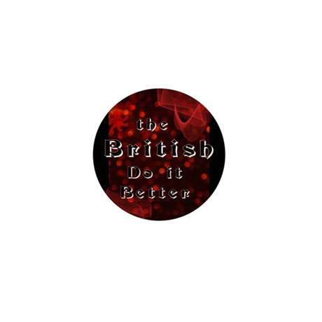 British Do it Better.png Mini Button (10 pack)