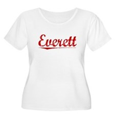 Everett, Vintage Red T-Shirt