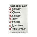 Grocery List Magnet