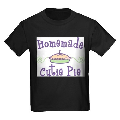 Homemade Cutie Pie Kids Dark T-Shirt