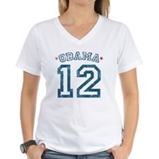 Obama '12 Distressed T-Shirt T-Shirt