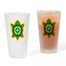 SOUTHEASTERN TRIBAL TURTLE Drinking Glass