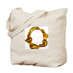 Blown Gold O Tote Bag
