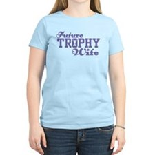 Future Trophy Wife Women's Pink T-Shirt
