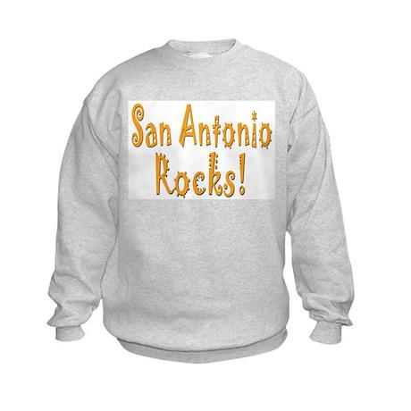 San Antonio Rocks! Kids Sweatshirt