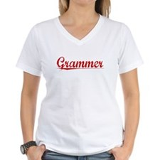 Grammer, Vintage Red Shirt