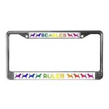 Beagles License Plate Frame