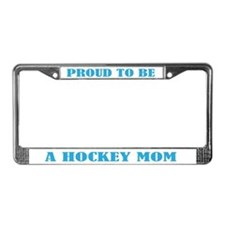 Proud Hockey Mom License Plate Frame