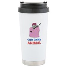 Damn Animal Ceramic Travel Mug