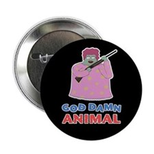 "Damn Animal 2.25"" Button"