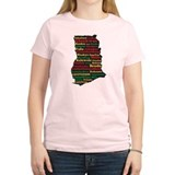 I Love Ghanaian Food T-Shirt